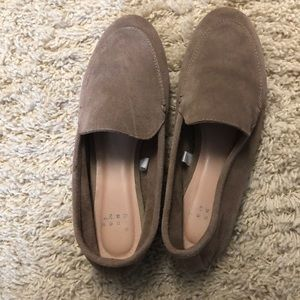 EUC BEIGE LOAFERS